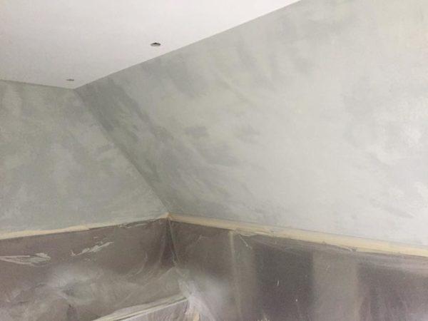 Betonlook badkamer Winsum